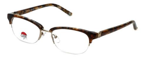 Silver Dollar Designer Eyeglasses Café 3194 in Caramel 52mm :: Rx Single Vision