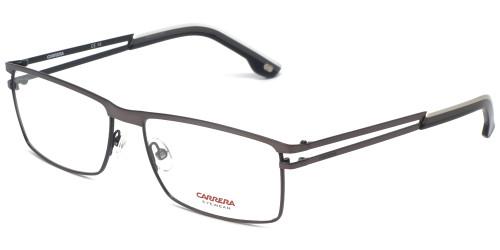 Carrera Designer Eyeglasses CA7580-FRK in Gunmetal Black 55mm :: Rx Single Vision