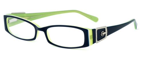 Calabria Designer Eyeglasses 814 Indigo :: Progressive