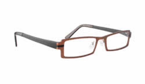 f2135640e7 Kliik Designer Eyeglasses 299 in Brown Copper    Progressive ...