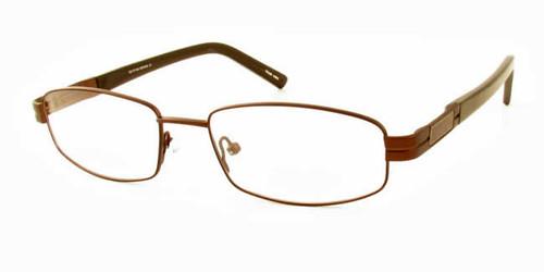 Dale Earnhardt, Jr. 6709 Designer Eyeglasses in Brown :: Progressive