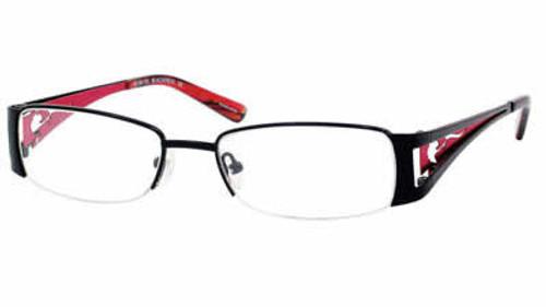 Dale Earnhardt, Jr. 6711 Designer Eyeglasses in Black-Red :: Progressive