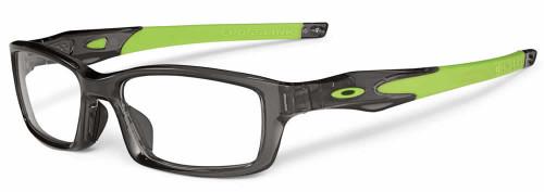 Oakley Designer Eyeglasses Crosslink Sweep in Smoke-Green 8033-0255 :: Progressive