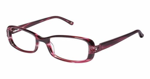 Tommy Bahama Designer Eyeglasses 171 in Burgundy :: Progressive