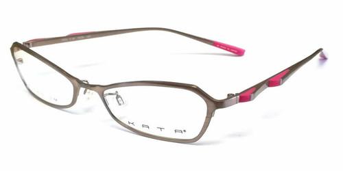 Kata Designer Eyeglasses 129 Rose in Rose :: Progressive