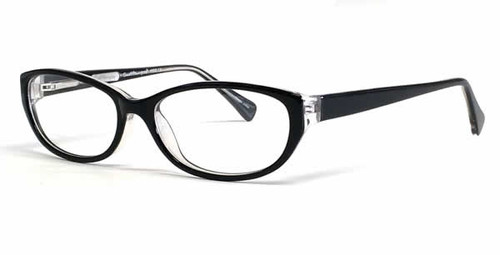 Ernest Hemingway Eyeglass Collection 4652 in Black-Crystal