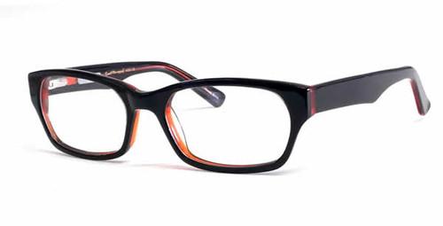 Ernest Hemingway Eyeglass Collection 4653 in Black Cognac