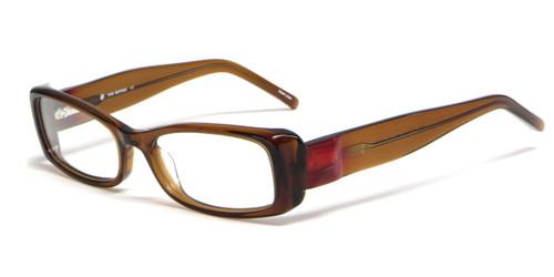 ce809f6164b Calabria Viv Designer Eyeglasses 4020 in Brown    Progressive