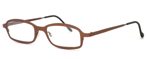Harry Lary's French Optical Eyewear Bill Eyeglasses in Copper (882) :: Progressive