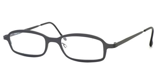 Harry Lary's French Optical Eyewear Bill Eyeglasses in Gunmetal (329) :: Progressive