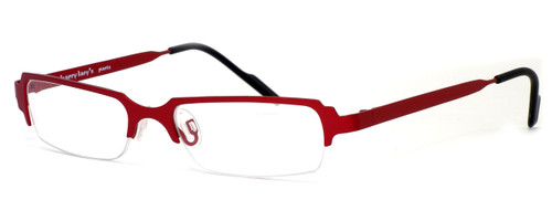 Harry Lary's French Optical Eyewear Clubby Eyeglasses in Red (360) :: Progressive