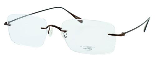 Oliver Peoples Optical Eyeglasses 678B in Brown :: Progressive