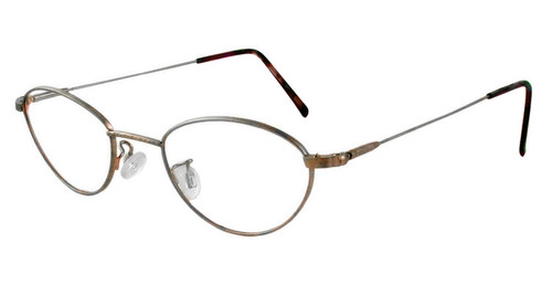 Marcolin 6395 47 mm Metal Reading Glasses in Bronze