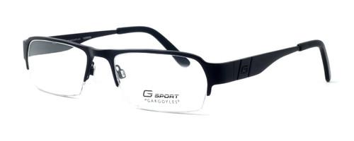 Gargoyles Designer Eyeglasses Eliminator in Black :: Progressive