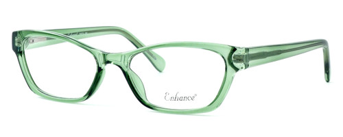 Enhance Optical Designer Eyeglasses 3903 in Jade :: Progressive