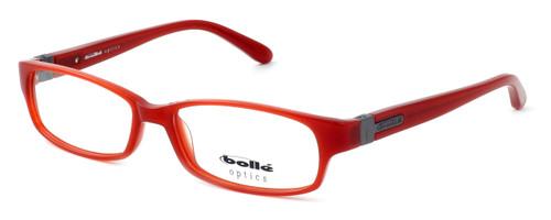 Bollé Deauville Designer Eyeglasses in Brick Red :: Progressive