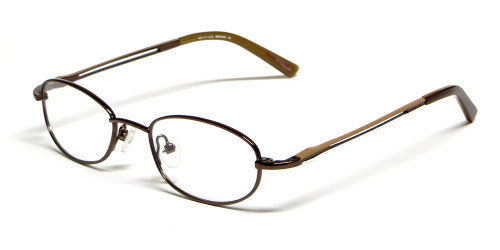 Calabria Viv Kids 116 Designer Reading Glasses in Brown