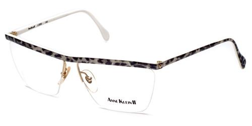 Anne Klein II Designer Eyeglasses 2059-809 in White Leopard :: Progressive
