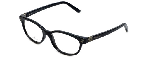 Swarovski Designer Eyeglasses Active SK5003-001 in Black :: Progressive