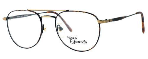 Regency International Designer Eyeglasses Geoffrey Antique & Gold Tortoise 53mm :: Progressive