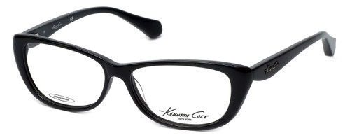Kenneth Cole Designer Eyeglasses KC0202-001 in Black :: Progressive