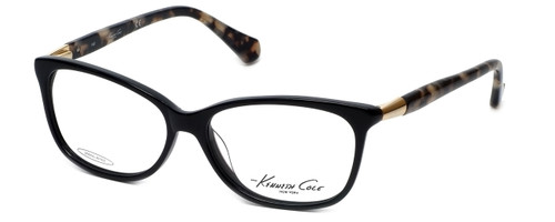 Kenneth Cole Designer Eyeglasses KC0212-001 in Black :: Progressive