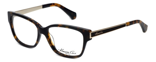 Kenneth Cole Designer Eyeglasses KC0218-052 in Tortoise :: Progressive