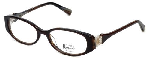 Guess by Marciano Designer Eyeglasses GM186-BRNBE in Brown :: Progressive
