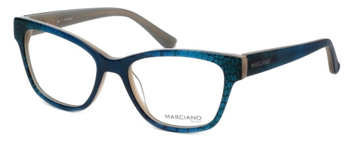 Guess by Marciano Designer Eyeglasses GM260-092 in Blue-Green :: Progressive