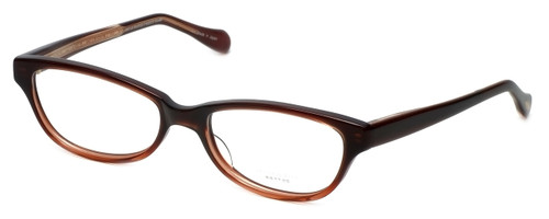Oliver Peoples Designer Eyeglasses Devereaux GARGR in Mahogany 50mm :: Progressive
