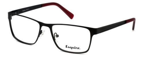 Esquire Designer Eyeglasses EQ1502 in Satin-Black 54mm :: Progressive