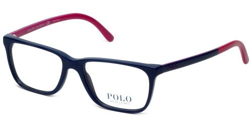 Polo Ralph Lauren Designer Eyeglasses PH2129-5515 in Navy Purple 51mm :: Progressive