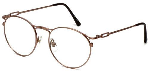 Regency Designer Eyeglasses New York in Brown 51mm :: Progressive