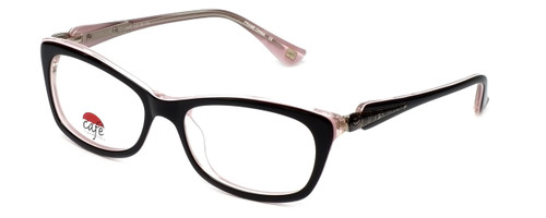 Silver Dollar Designer Eyeglasses Café 3161 in Ebony Pink 52mm :: Progressive