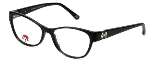 Silver Dollar Designer Eyeglasses Café 3201 in Caviar 53mm :: Progressive