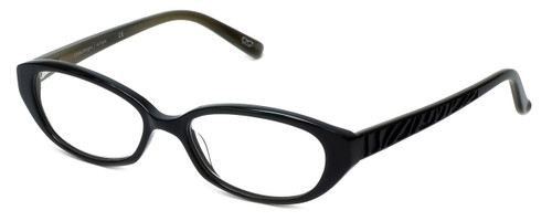 Cinzia Designer Eyeglasses CBR1 C1 in Black 51mm :: Progressive