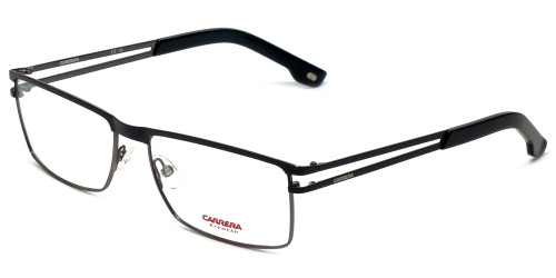 Carrera Designer Eyeglasses CA7580-832 in Black Gunmetal 55mm :: Progressive