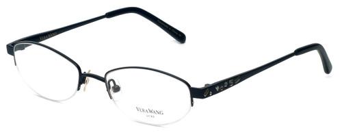 Vera Wang Designer Eyeglasses Glitter in Black 50mm :: Progressive