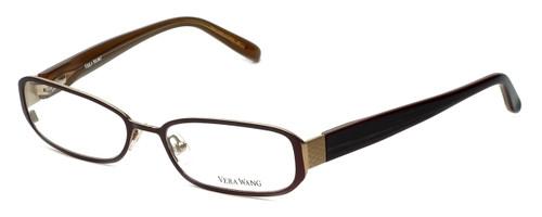 Vera Wang Designer Eyeglasses V029 in Burgundy  52mm :: Progressive