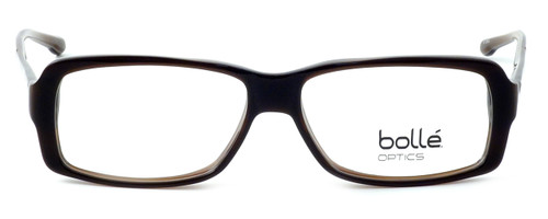 Bollé Dreux Designer Eyeglasses in Brown Stripe :: Rx Bi-Focal