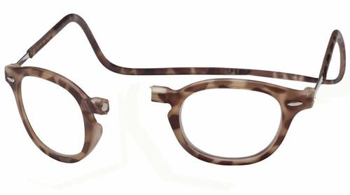 061f7ff6a2 Clic Designer Eyeglasses Vintage Style in Light Demi-Tortoise    Rx Bi-Focal