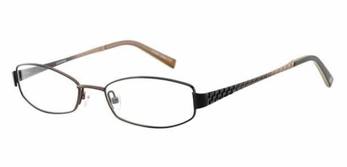 Converse Designer Eyeglasses Bedlam in Black & Brown :: Rx Bi-Focal