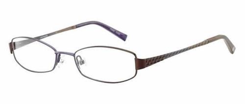 Converse Designer Eyeglasses Bedlam in Brown & Purple :: Rx Bi-Focal