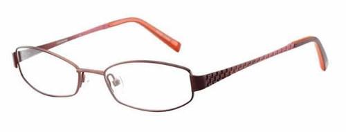 Converse Designer Eyeglasses Bedlam in Burgundy & Rose :: Rx Bi-Focal