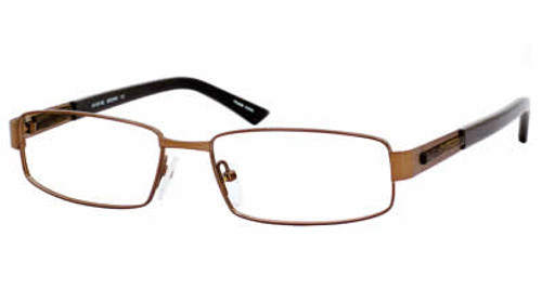 Dale Earnhardt, Jr. 6702 Designer Eyeglasses in Satin-Brown :: Rx Bi-Focal