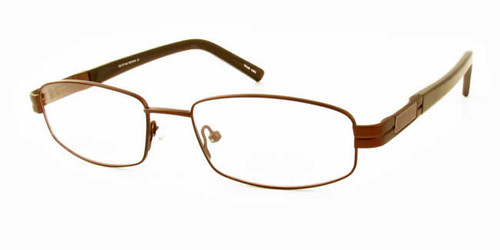 Dale Earnhardt, Jr. 6709 Designer Eyeglasses in Brown :: Rx Bi-Focal
