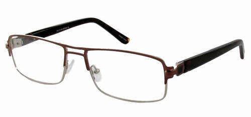 Dale Earnhardt, Jr. 6770 Designer Eyeglasses in Brown :: Rx Bi-Focal