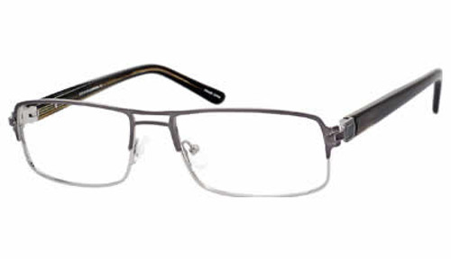 Dale Earnhardt, Jr. 6770 Designer Eyeglasses in Gun-Metal :: Rx Bi-Focal