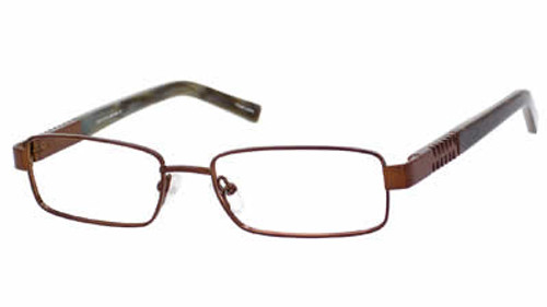 Dale Earnhardt, Jr. 6773 Designer Eyeglasses in Brown :: Rx Bi-Focal