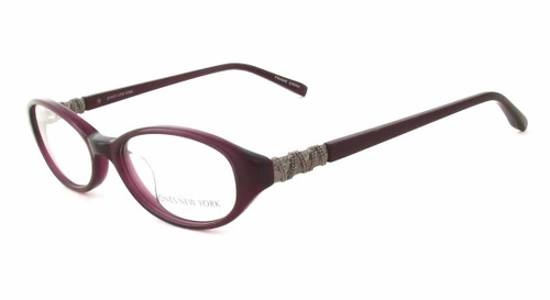 Jones NY Designer Eyeglasses J745 in Purple :: Rx Bi-Focal